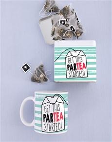 gifts: Personalised Birthday Mug and Tea Tin Combo!