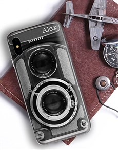 gifts: Personalised Camera iPhone Cover!