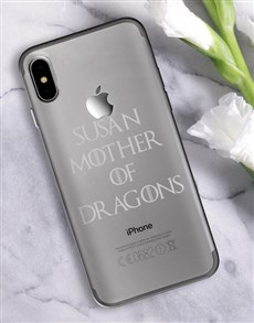 gifts: Personalised Mother of Dragons iPhone Cover!