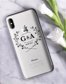 gifts: Personalised Blossom Wreath iPhone Cover!