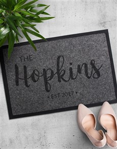 gifts: Personalised Family Name Doormat!