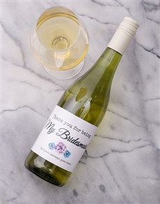 gifts: Thank You For Being Personalised Wine!
