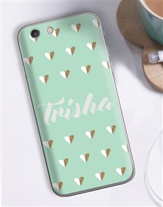 gifts: Personalised Hearts iPhone Cover!