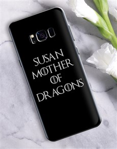 gifts: Personalised Mother of Dragons Samsung Cover!