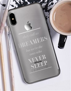 gifts: Personalised Dreamers iPhone Cover!