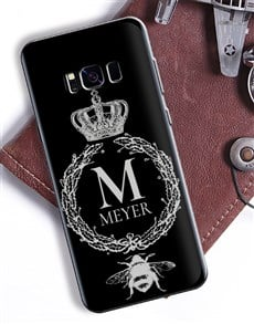 gifts: Personalised Crown Wreath Samsung Cover!