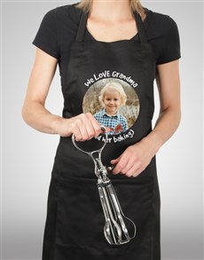 gifts: Personalised Message and Photo Apron!