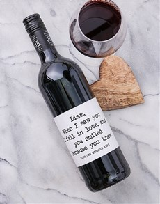 gifts: Personalised You Knew Wine!