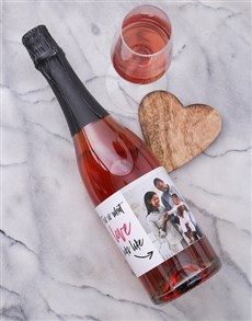 gifts: Personalised Look of Love Photo Wine!