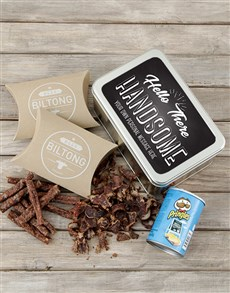 gifts: Personalised Handsome Snack Tin!