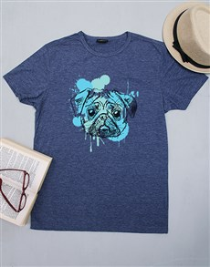 gifts: Personalised Pug Shirt!