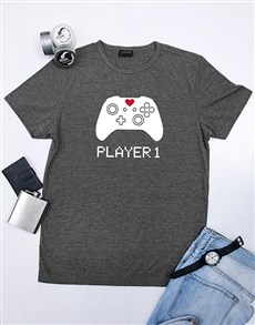 Personalised Player 1 Shirt
