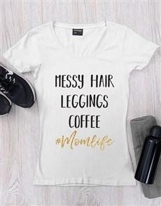 gifts: Personalised Mom Life Shirt!