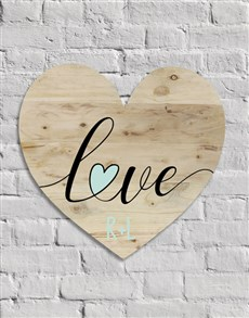 gifts: Personalised Love Wall Art!