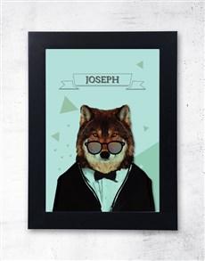 gifts: Personalised Tuxedo Frame!