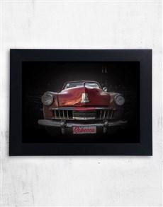 gifts: Personalised Vintage Car Frame!