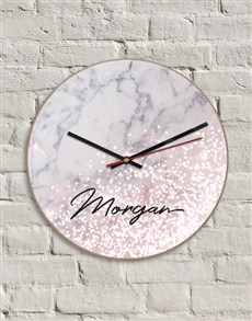 gifts: Personalised MDF Time For Wine Clock!