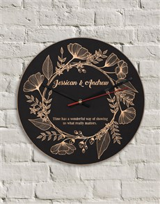 gifts: Personalised What Really Matters Clock!