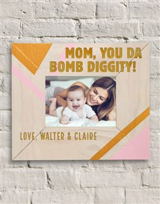 gifts: Personalised Bomb Diggity Photo Frame!
