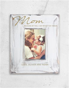 gifts: Personalised Because Of You Photo Frame!