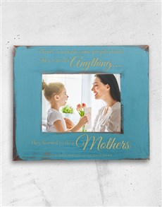 gifts: Personalised Can Do Anything Photo Frame!