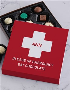 gifts: Personalised Emergency Chocolate Tray!
