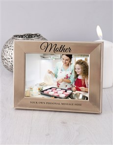 gifts: Personalised Mother Photo Frame!