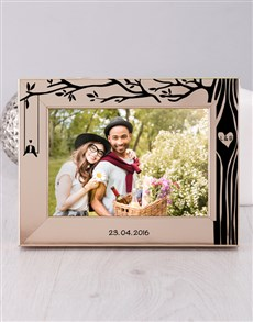 gifts: Personalised Tree Photo Frame!
