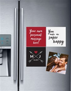gifts: Personalised Love Magnets!