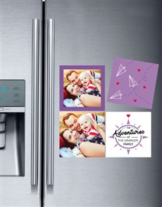 gifts: Personalised Family Adventure Magnets!