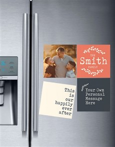 gifts: Personalised Happily Ever After Magnets!