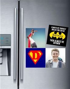 gifts: Personalised Superhero Magnets!