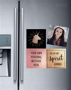 gifts: Personalised Spirit Animal Magnets!