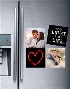 gifts: Personalised Light Up My Life Magnets!