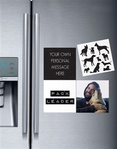 gifts: Personalised Pack Leader Magnets!
