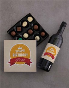 gifts: Personalised Birthday Chocolate Tray!