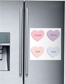 gifts: Personalised Sweetheart Magnets!