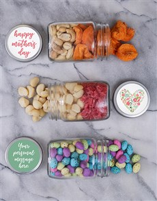 gifts: Personalised Mothers Day Fruit Jar Trio!
