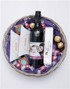 gifts: Personalised Photo Mothers Day Basket!