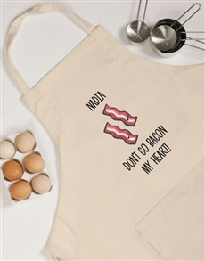 gifts: Personalised His and Hers Bacon Apron!