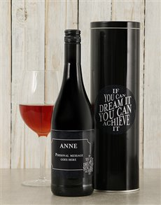 gifts: Personalised Dream It Wine Tin!
