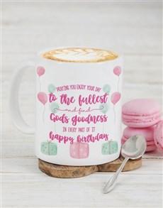 gifts: Personalised Gods Goodness Birthday Mug!