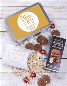gifts: Thank you Snack Tin!