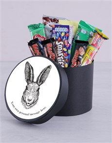 gifts: Personalised Easter Bunny Hat Box!