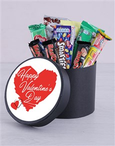 gifts: Personalised Valentines Heart Hat Box!