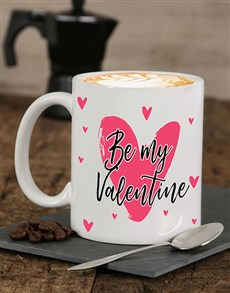 gifts: Personalised Be My Valentine Mug!
