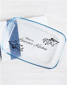 gifts: Personalised Blossom Print Dish!