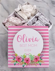 gifts: Personalised Floral Box With Nougat!