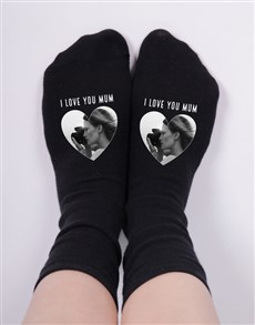 gifts: Personalised Heart Photo Socks!