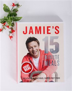 gifts: Personalised Jamie's Quick Meals Cookbook!